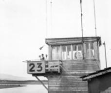 Air Traffic Control tower in Geneva